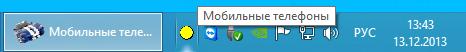 Название программы в SystemTray