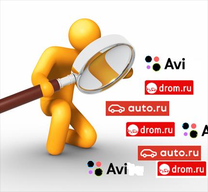 Анализ объявлений с электронных досок avit.ru, auto.ru, irr.ru, drom.ru